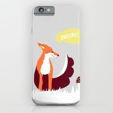 party animals - english fox iPhone 6s Slim Case