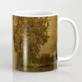 A Single Birch Tree Coffee Mug