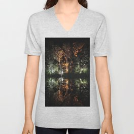 Artificial Reflection Unisex V-Neck