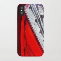 mercedes iPhone & iPod Cases featuring Mercedes-Benz SL 63 AMG Bi-Turbo Back Light by Mauricio Santana