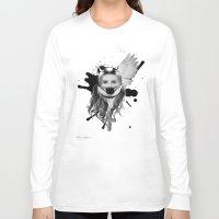 harley Long Sleeve T-shirts featuring harley girl by mark ashkenazi