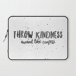 Throw kinds around like confetti Laptop Sleeve