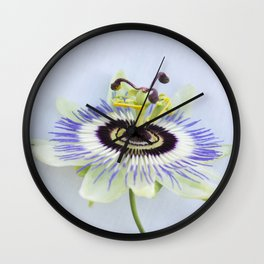 pation flower II Wall Clock