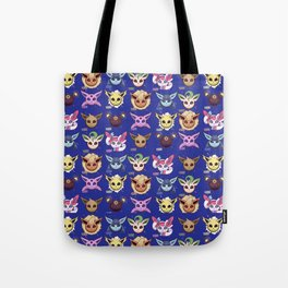 Eeveelutions Blue Tote Bag