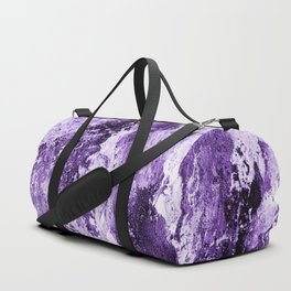 Purple& white abstract 170118ps2 Duffle Bag