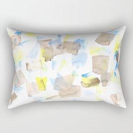 180515 WATERCOLOUR ABSTRACT WP 18  Watercolor Brush Strokes Rectangular Pillow