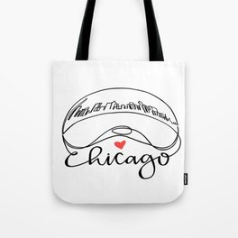 "Chicago Cloud Gate ""Bean"" Tote Bag"