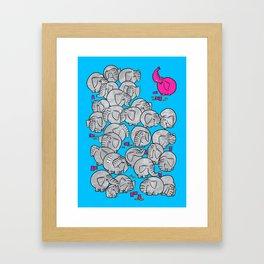 Pink Elephant 2020 Framed Art Print