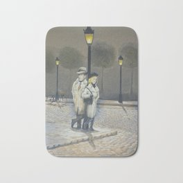 Midnight in Paris Bath Mat