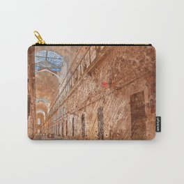 Battered Prison Corridor Carry-All Pouch