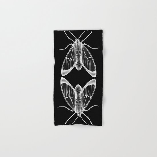 Wasp Moth II Hand & Bath Towel