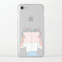 Read All About It Clear iPhone Case