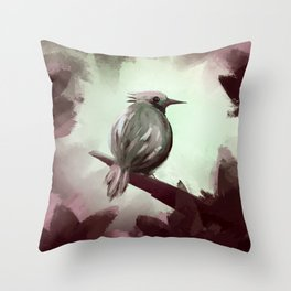For the ones bird Throw Pillow