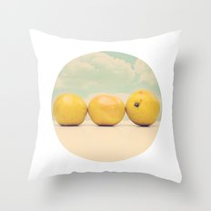 Its always Sunny at Breakfast time Throw Pillow