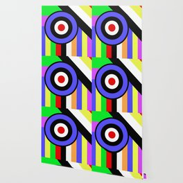 Bold Geometry - Abstract, Geometric, Retro Art Wallpaper