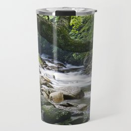 Smoky Mountain Stream in Tennessee Travel Mug