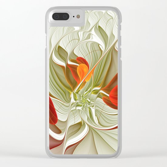 Fractal Art Bring Color Into Your Life Clear iPhone Case