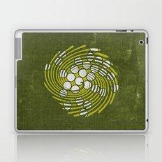 Circles in Vortex Laptop & iPad Skin