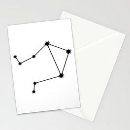 Libra Astrology Star Sign Minimal Stationery Cards