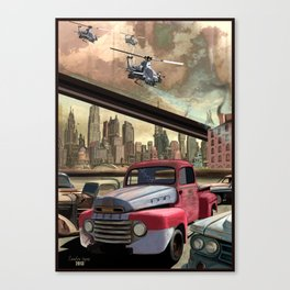 A Day In The Future (Pt 1) Canvas Print