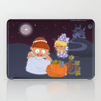 cinderella iPad Cases featuring Cinderella by Alapapaju