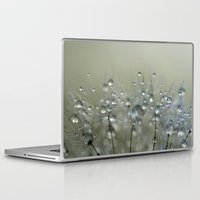sparkles Laptop & iPad Skins featuring Gold Sparkles by Sharon Johnstone
