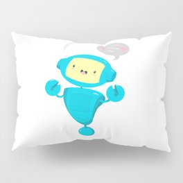 Adorobot is here! Prepare to be destroyed <3 Pillow Sham