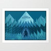 Skyrim Art Print