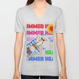 Summer Heat Unisex V-Neck