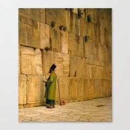 J.L. Gerome - The Wailing Wall Canvas Print