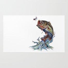 Bass Fish Rug