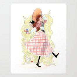 Gigi! Art Print