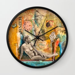 Remembering Much, But Not Getting Stuck in the Past  Wall Clock