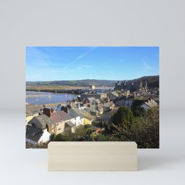 Spring Day At Conwy Mini Art Print