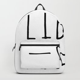 Libra zodiac sign Backpack