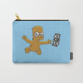 swimming Bart Carry-All Pouch
