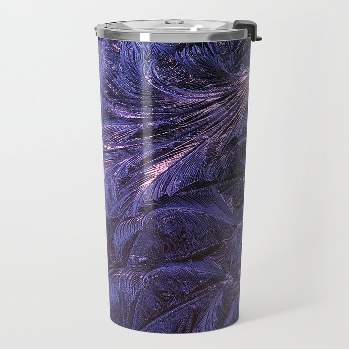 Ice Fractals 2 Travel Mug