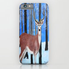 Buck by the trees iPhone 6s Slim Case