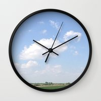 mouse Wall Clocks featuring Mouse by Stecker Photographie