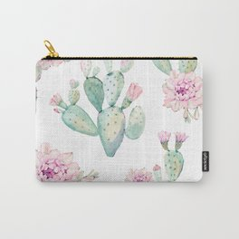 Simply Cactus Rose Carry-All Pouch