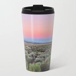 Dreamy Desert Road Travel Mug
