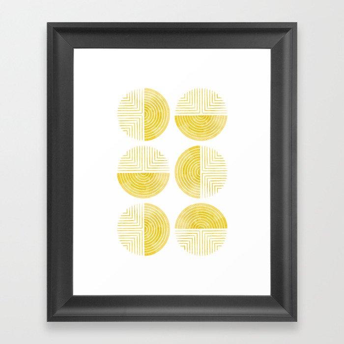 Labyrinth - Honey Gerahmter Kunstdruck
