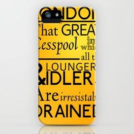 Holmesian London iPhone Case