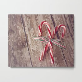 Candy Canes 2 Metal Print