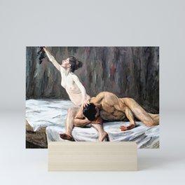 12,000pixel-500dpi - Max Liebermann - Samson and Delilah - Digital Remastered Edition Mini Art Print