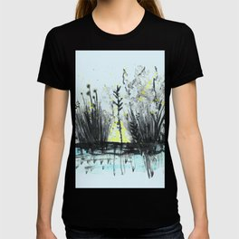 Cattails in the grass T-shirt