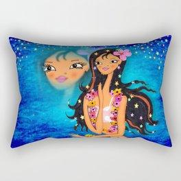 Hula Honey Baby Rectangular Pillow