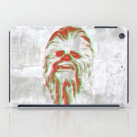 chewbacca iPad Cases featuring Chewbacca by mangen