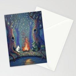 Moomin's night Stationery Cards