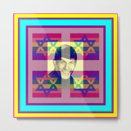 LEONARD NIMOY/POP ART/JUDAICA Metal Print